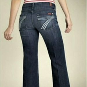 7 For All Mankind Dojo wide flare jeans